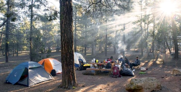 Your First Camping Holiday
